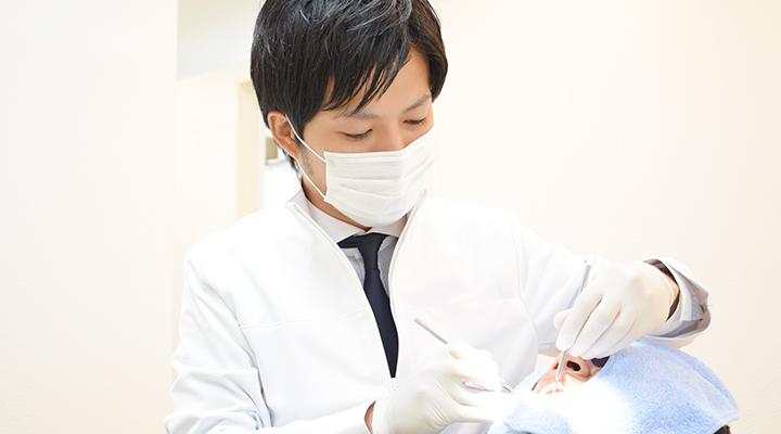 患者様に優しい、可能な限り「痛みを抑えた」歯科治療