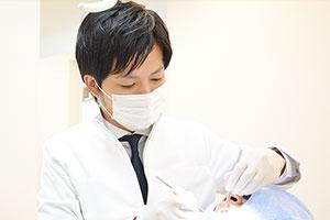歯の神経を可能な限り残す